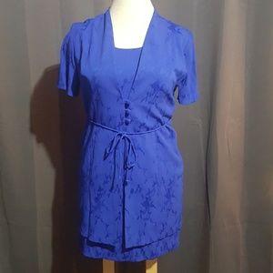 Justinthymed LTD Peitie Blue Dress size 16